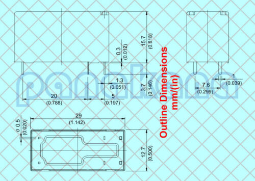 12VDC Relay 881H-1AC-C, 881H-1AC-F-CE1, EZ-SH-112DM Song Chuan 881H-1AC-F-S