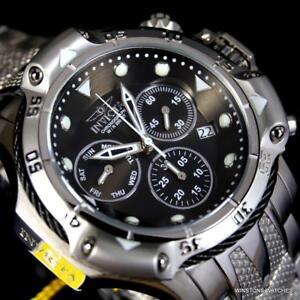 Invicta-Subaqua-Poseidon-Bolt-Chronograph-Stainless-Steel-Black-50mm-Watch-New