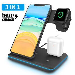 Qi-Wireless-Fast-Charger-Stand-For-Apple-Watch-iPhone-11-Pro-Max-X-XR-XS-8-Plus