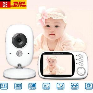 "3,2"" Digital Wireless Babyphone mit Kamera LCD babyfone Video Monitor Nachtsicht"