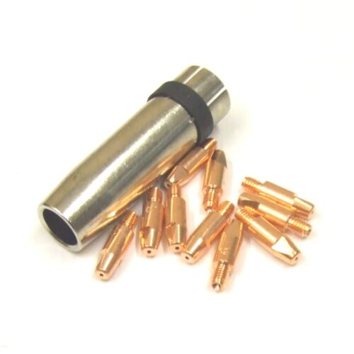 Binzel MB 36 Type Gas Nozzle 84mm /& 10 x Contact Tips