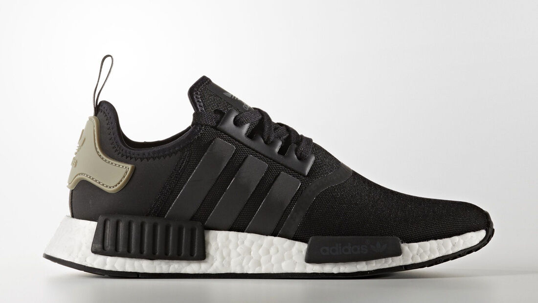 New Adidas Men S Classic Nmd R1 Runner Casual Shoes Black Ba7251 Size 13 5us For Sale Online