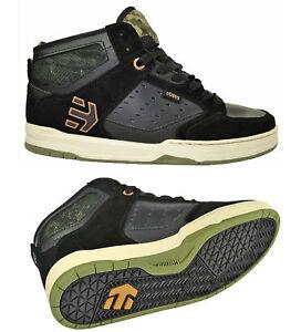 49415c128f0956 Das Bild wird geladen Etnies-Cartel-Mid-black-camo-Skater-Schuhe-Sneaker-