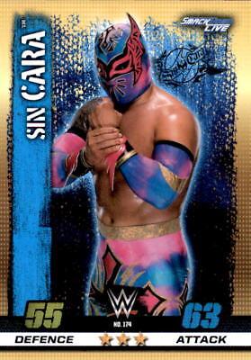 WWE Slam Attax 10th Edition-nº 174-sin cara-SmackDown Live