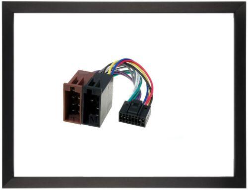 ISO Adapter Autoradio für  JVC  KD-R321 KD-R322 KD-R421 KD-R422 KD-R423 KD-R521