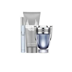 Invictus-by-Paco-Rabanne-Eau-De-Toilette-for-Men-100ml-Trio-Gift-Set-NEW