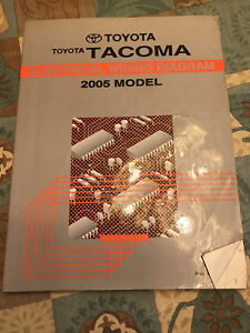 2005 Toyota Tacoma Service Repair Manual Electrical Wiring ...
