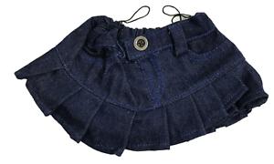 Denim-Skirt-Teddy-Bear-Clothes-Fits-Most-14-034-18-034-Build-a-Bear-amp-More