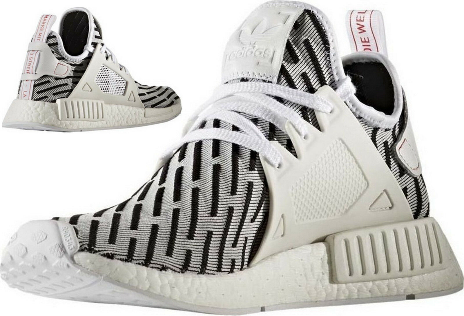 Adidas NMD XR1 Originals Primeknit  Zebra  Sneaker Runner Boost BB2911