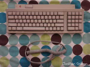 Apple-Keyboard-II-for-Macintosh-IIgs-ADB-Apple-Desktop-Bus-Mac-Vintage-M0487