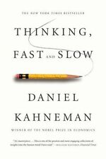 Thinking, Fast and Slow by Daniel Kahneman (2013, Paperback)