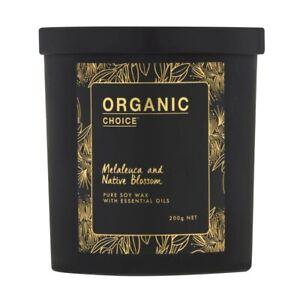 Organic Choice Melaleuca & Native Blossom Candle 1 each