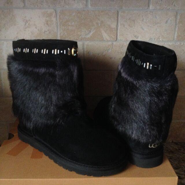 Boots Rosana Black Australia Size Us Tall Suede Cuff Ugg Womens Toscana 5 XPikOZTu