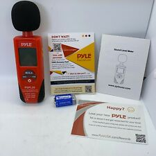 Pyle Pspl25 Digital Handheld Sound Level Meter With A And C Frequency Weighting