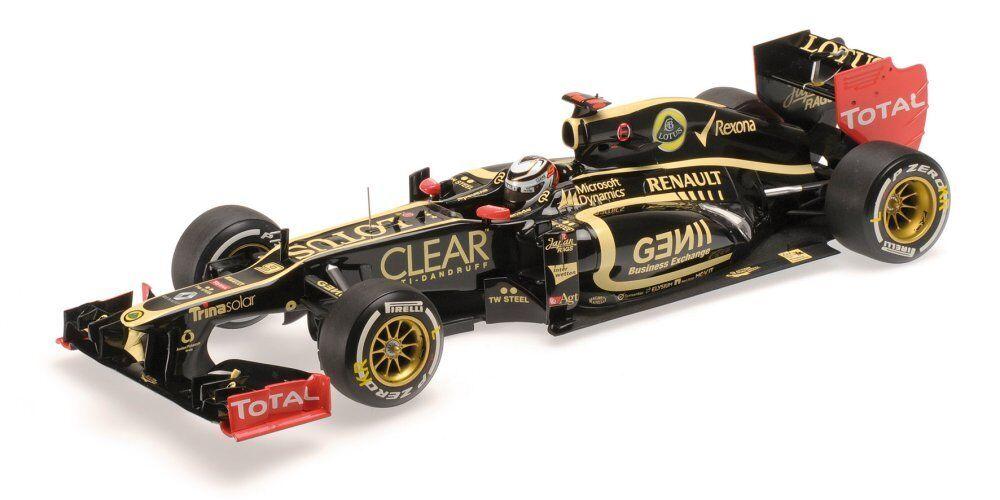 Lotus K. RAIKKONEN 2012 n.9 WINNER Abu Dhabi GP 1 18 MODEL 110120209 Minichamps
