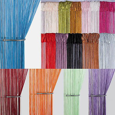 String Curtain Panels Door Fly Screen Amp Room Divider