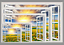 3D Beach Sea Sunny 02 Open Windows WallPaper Murals Wall Print AJ Carly