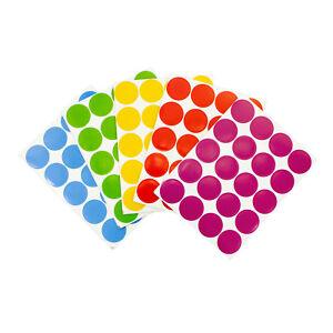 200-Klebepunkte-Markierungspunkte-Sticker-Aufkleber-2cm-Farbe-waehlbar