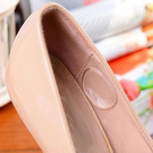 Gootrades Girls Silicone Gel Shoe Insole Inserts Pad Cushion Heel Grips Liner X6