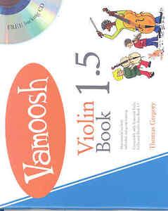 Aimable Vamoosh Violin Book 1.5 Gregory + Cd-afficher Le Titre D'origine Aussi Efficacement Qu'Une FéE