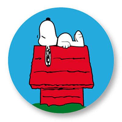 Porte clé Keychain Ø45mm BD Dessin Animé Cartoon Peanuts Snoopy dog