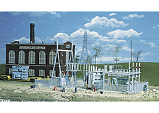 Walthers 933-3025 HO Northern Light & Power Substation Building Kit