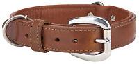 Angel™ Dallas Leather Dog Collar