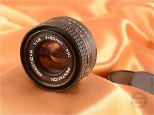 Praktica-B-Mount-Pentacon-Prakticar-Auto-50mm-f1-8-Standard-Lens-VGC-002