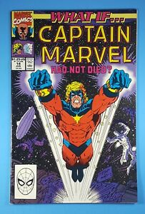 WHAT-IF-14-Captain-Marvel-Had-Not-Died-Marvel-Comics-1990-Silver-Surfer