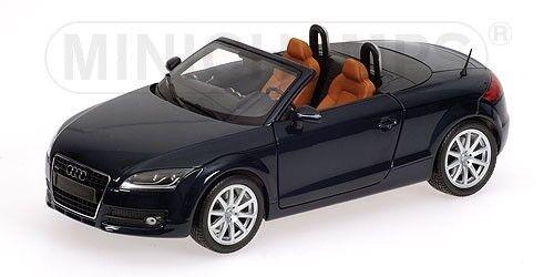 Audi TT Roadster 2006 bleu Metallic 1 18 Model MINICHAMPS