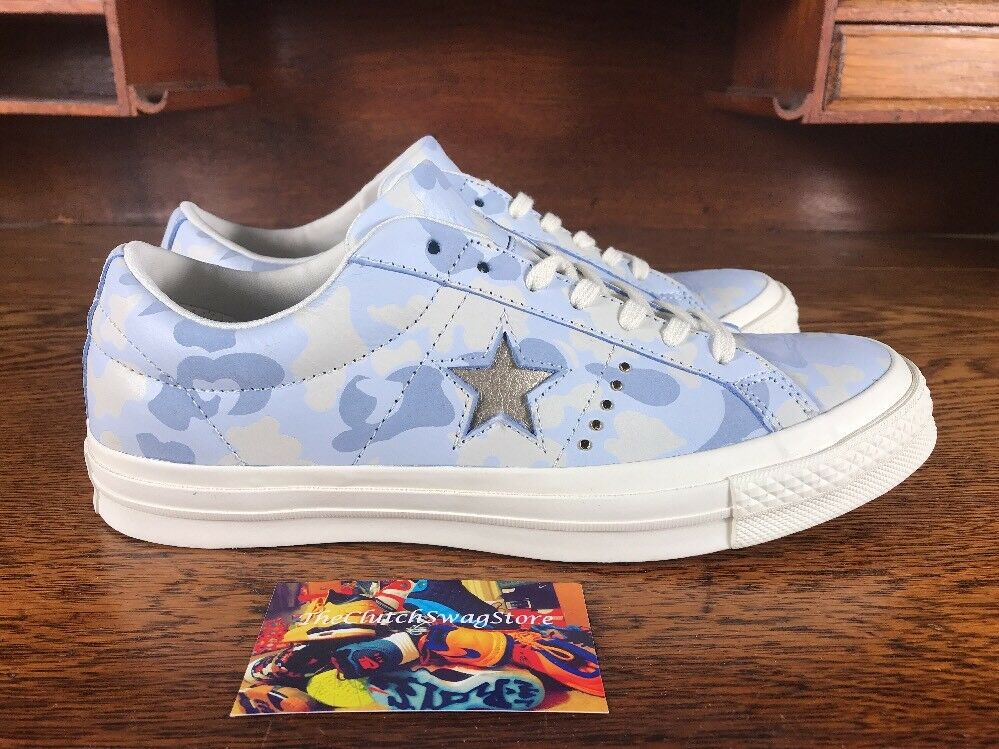 Converse One Star Ox damen schuhe Blau Blau Blau Weiß Camo 159704C NEW Multi damen Größes 257d7d