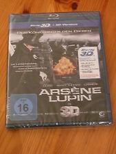 Arsene Lupin, Bluray, 3D-Version + 2D-Version, neu, OVP