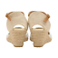 Ladies Dunlop Espadrille Wedge Sandals Faux Suede Memory Foam Ankle Strap Sandal