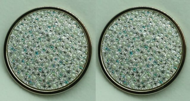 2 Bath /& Body Works DECORATIVE MARBLE Large 3-Wick Candle Lid Cap 14.5 oz