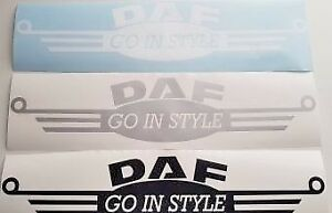 DAF-TRUCK-034-GO-IN-STYLE-034-X2-DECAL-STICKER-MATTE-FINISH-LOGO-XF-CF-LF