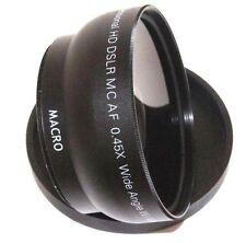 HD Wide Angle with Macro Lens for Panasonic 14-50mm Lens
