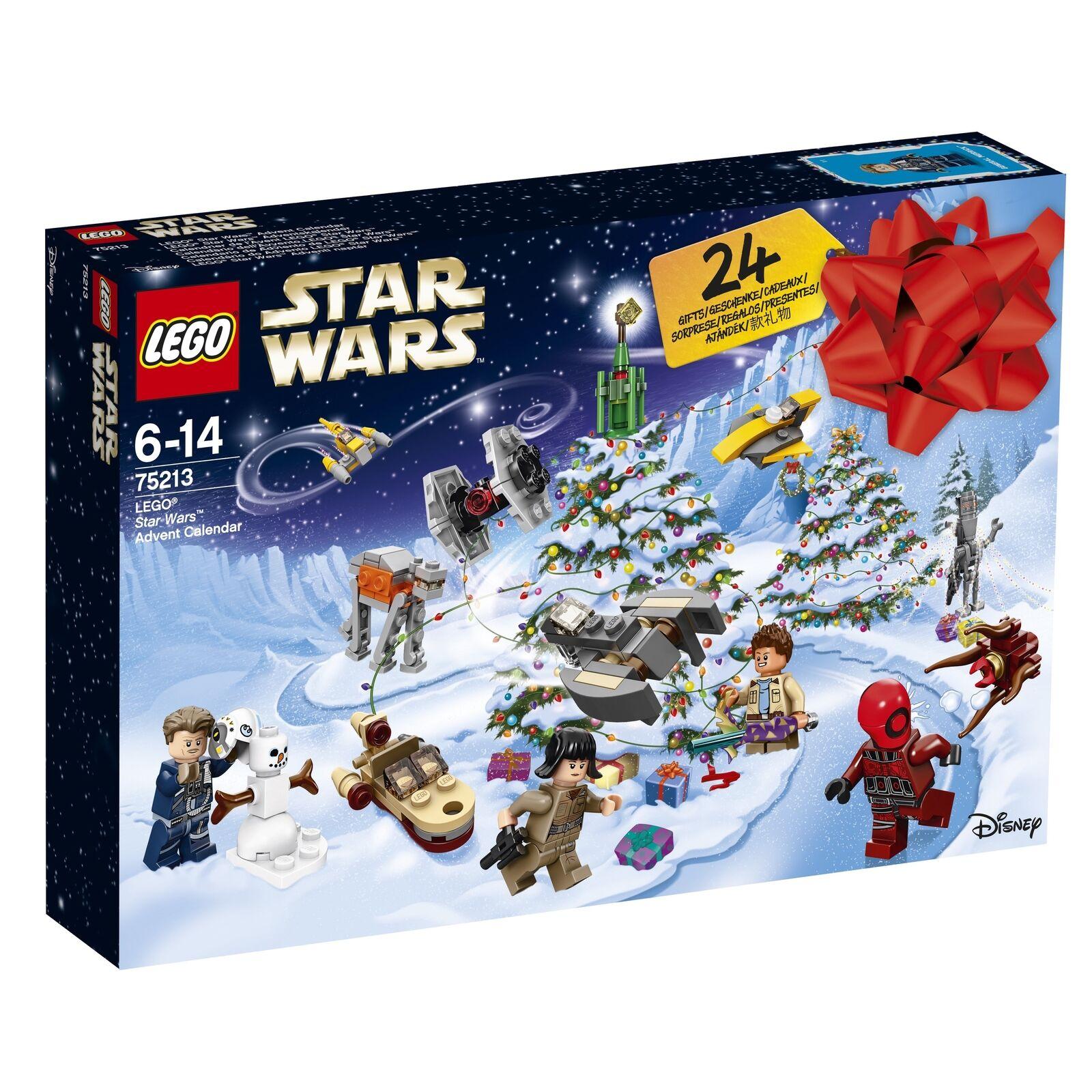 Lego Star Wars 75213 calendrier de l'avent 2018 NEUF ET Neuf dans sa boîte
