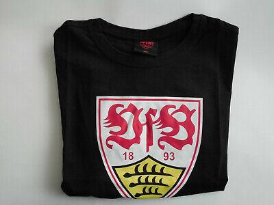 VfB Stuttgart T-Shirt schwarz Wappen