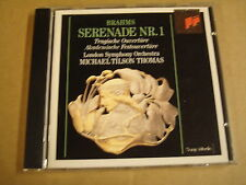 CD SONY CLASSICAL / JOHANNES BRAHMS - SERENADE NR.1 / MICHAEL TILSON THOMAS