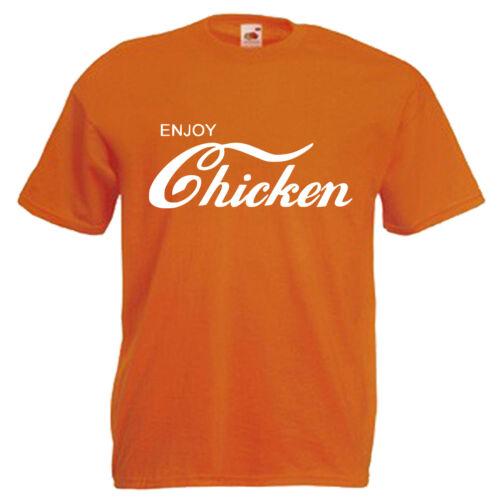 Love Chicken Mens T Shirt 12 Colours Size S 3XL