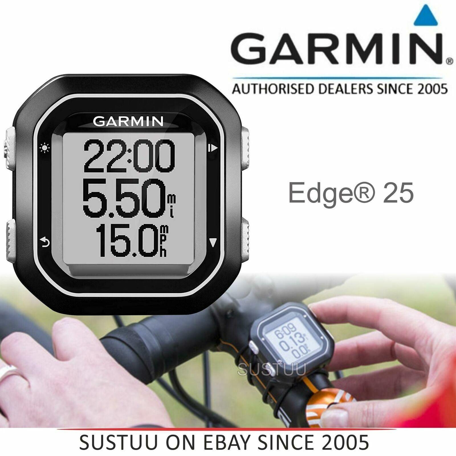 Garmin Edge 25 GPS Bike Cycling Computer│Live Tracking│GLONASS│Water-resistant