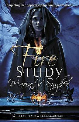 """AS NEW"" Fire Study (The Chronicles of Ixia), Snyder, Maria V., Book"
