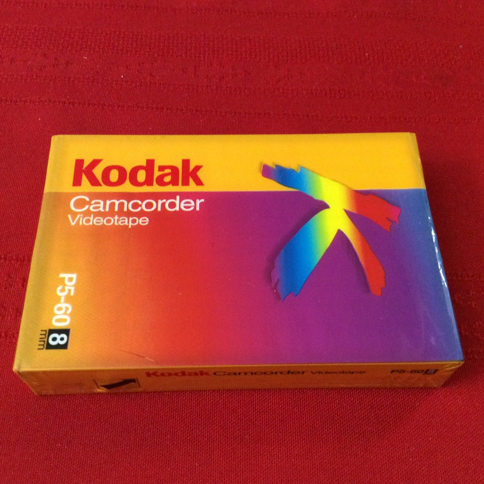 New Kodak Camcorder 8mm Videotape 60 mins P5-60 NEW SEALED (S5K)