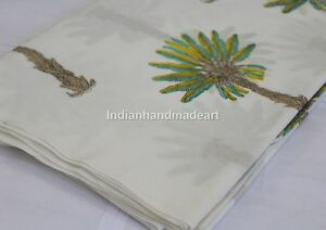 By-The-Yard-Hand-Block-Print-Cotton-Voile-Indian-Supply-Fabric-Material-Craft