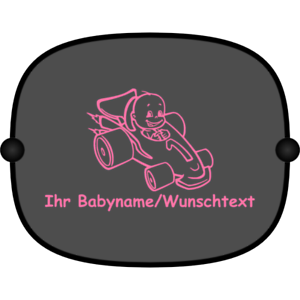 2x Auto-Sonnenschutz Sonnenblende Kinder Baby Motiv 812