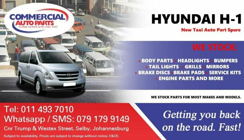 Hyundai H1 Parts and Spares For Sale