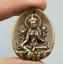 1-6-034-Nepal-Tibetan-Buddhism-Bronze-Kwan-yin-Tara-Guan-Yin-Goddess-Amulet-Pendant thumbnail 1