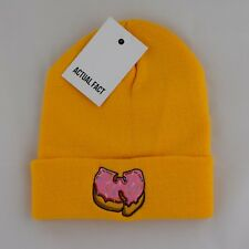 J Dilla Silhouette Hip Hop Cameo Roll Up Black Beanie Hat by Actual Fact