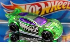 2016 TRACK BUILDER System Exclusive POWER PISTONS☆teal//yellow;9☆LOOSE Hot Wheels