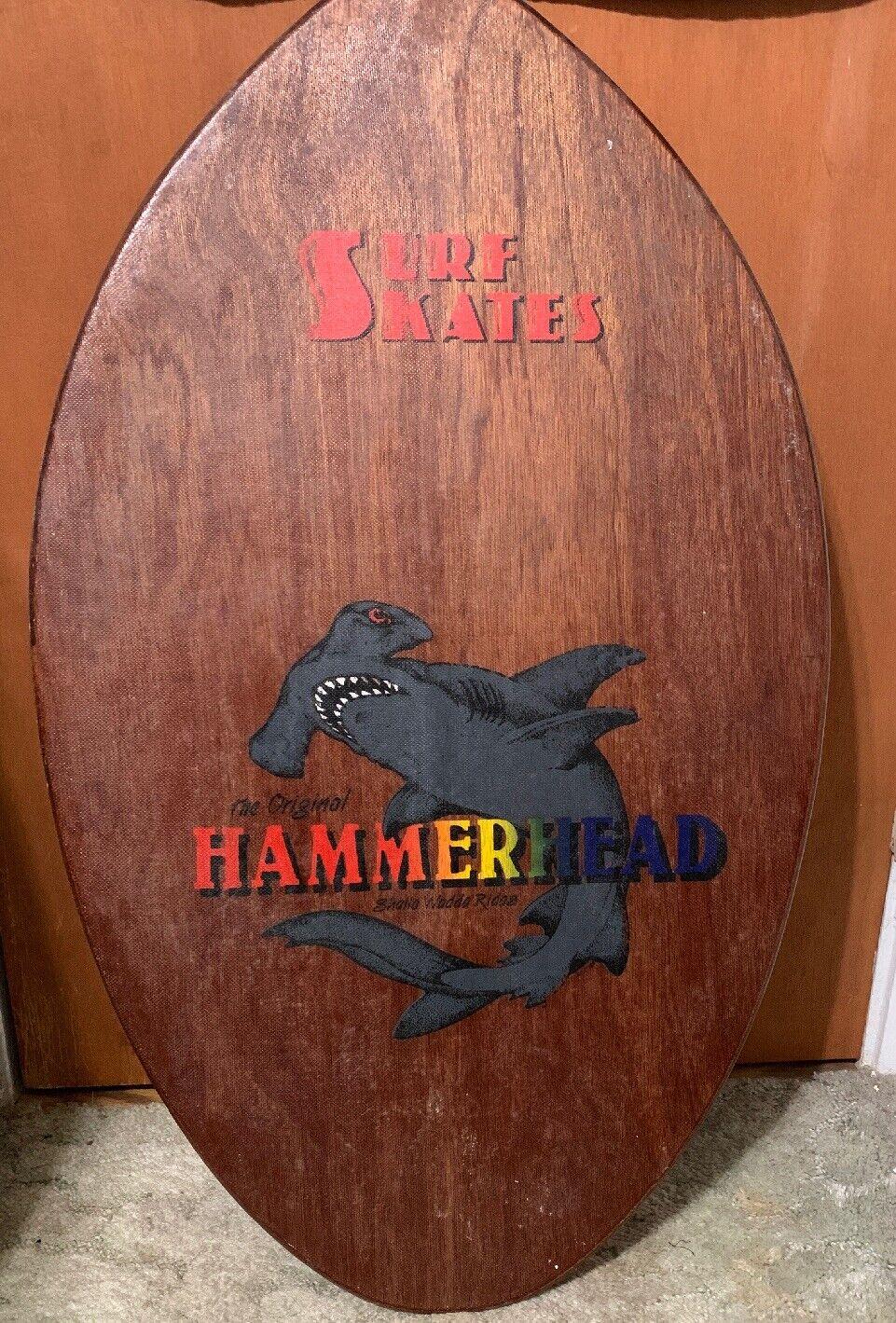 Tabla De Surf Patines Hammerhead descremada Vintage